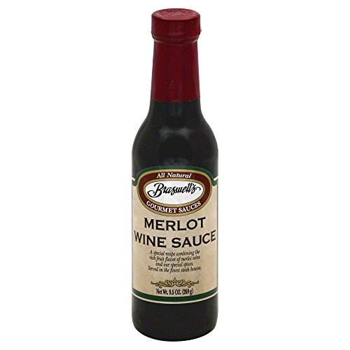 Braswell's Merlot Wine Sauce 9.5fl.oz (Pack of 2)