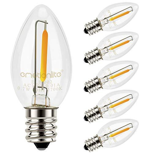 Westinghouse Lighting 37202 Corp 7-watt Clear Night Bulb 4-Pack