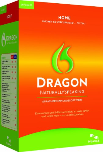 Dragon NaturallySpeaking Home 11