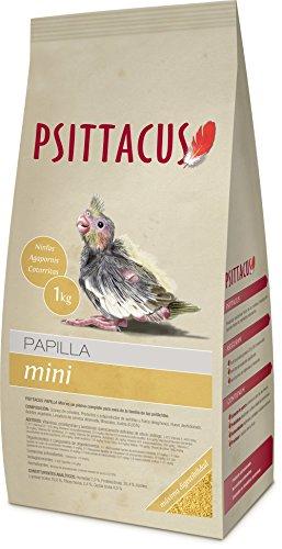 Psittacus Papilla Mini para Ninfas, Agapornis y Periquitos 1 Kg.