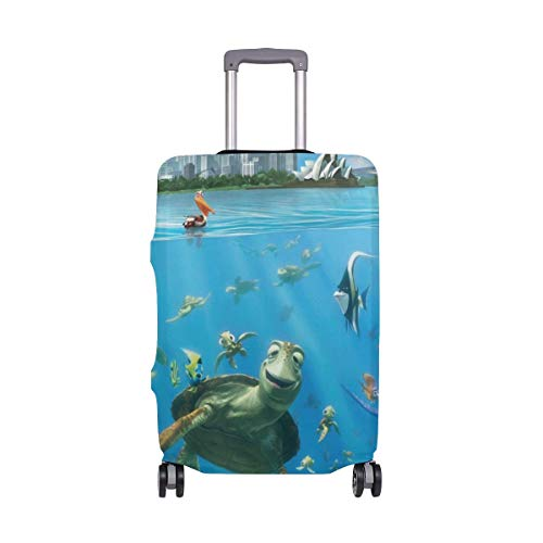 Travel Lage Cover Finding Nemo Undersea Suitcase Protector Fits 26-28 Inch Washable Baggage Covers