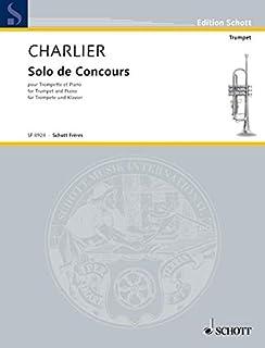 シャルリエ : 演奏会用独奏曲 (トランペット、ピアノ) ショット出版