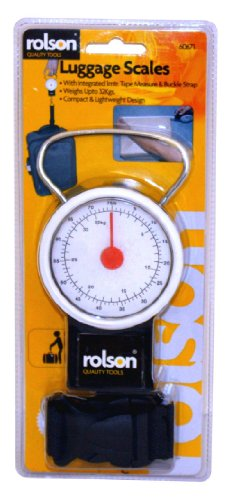 Rolson Tools 60671 Luggage Scales, 32 kg