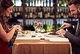 Ailiebhaus 50er herzförmige Kerzen, rauchfreie Teelichter, für Geburtstag, Vorschlag,Hochzeit,Party, Rot, Hochzeit Verlobung, Valentinstag (Rosa) - 3