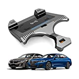 Cargador Coche Inalámbrico Para BMW5 Series 2018-2021 Panel de Accesorios Consola Central,Cojín Carga Rápido Cargador Del Teléfono de 15W Qi con El Cojín de Carga Inalámbrico Del Vehículo de QC3.0 USB