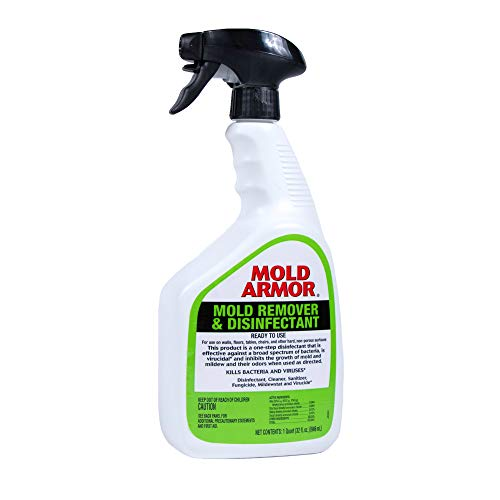 Mold Armor Mold Remover and Disinfectant, FG552, Trigger Spray, 32 oz, White