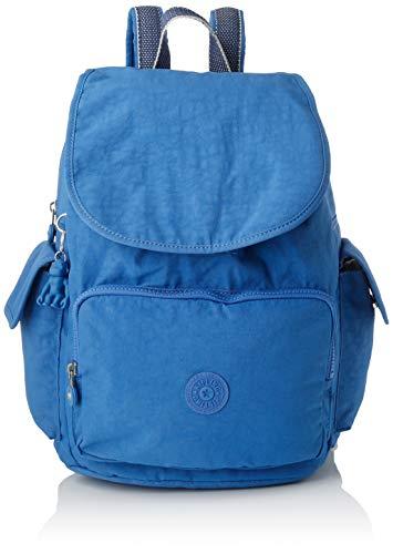 Kipling Damen City Pack Rucksack, Blau (Wave Blue), 32x37x18.5 cm