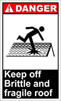 素晴らしいティンサインアルミニウム、壊れやすく壊れやすい屋根の危険を防ぐ2819ティンウォールサインレトロな鉄の絵画金属ポスターガレージホームガーデンストアバーCafeacuteのプラークアートの装飾