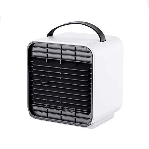 Climatizzatore Portatile Radiatori evaporativi Raffreddatore aria, 3 in 1 USB Portable Mini Condizionatore Aria condizionata, 3 Gear Speed `Ricaricabile Desktop Fan di raffreddamento per Home Office