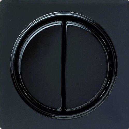 Gira 012547 toetsschakelaar serie S-Color, zwart
