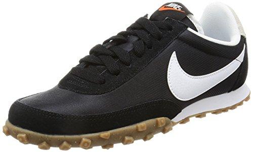 NIKE W Waffle Racer Schuhe Damen Sneaker Turnschuhe Schwarz 881183 001, Größenauswahl:38.5