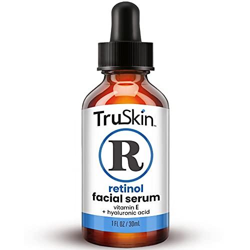 TruSkin Retinol Serum for Wrinkles & Fine Lines with Organic Green Tea & Jojoba...
