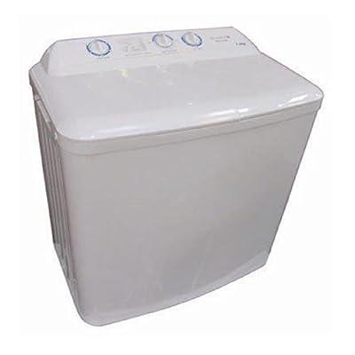 Twin Tub Washer Washing Machine & Spin Dryer Full Size - White