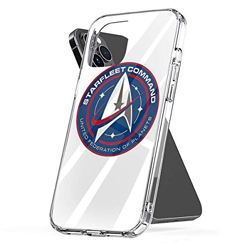 Phone Case Star Trek Discovery Starfleet Command Red and Blue Badge Compatible with iPhone 6 6s 7 8 X XS XR 11 Pro Max SE 2020 Samsung Galaxy Charm Tested Drop