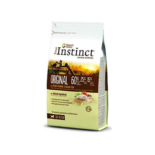 True Instinct - Pienso para Gatos Kitten Original Pollo y arroz Integral ⭐