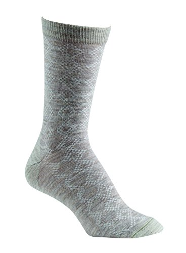 Fox River Pointelle-Damen Hohe Crew Socken, Damen, hellbeige