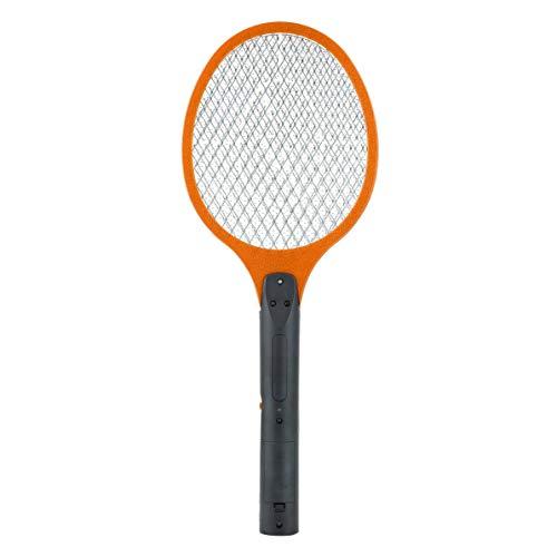Fancysweety Red respetuosa con el Medio Ambiente, Raqueta de Mano de celda Seca, matamoscas eléctricas, hogar, jardín, Control de plagas, Insectos, murciélagos, Avispas, Mosquitos