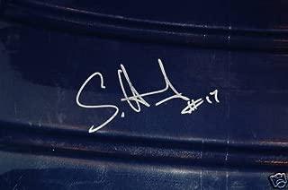 Sam Hurd #17 Autograph Texas Stadium Seat Chair