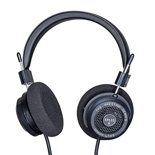 GRADO SR125x Prestige Series Wired Open-Back Stereo Headphones