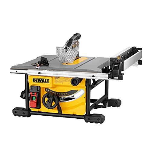 DEWALT DEWDWE7485 DWE7485 Compact Table Saw 250mm 240v, 240 V, Yellow/Bl