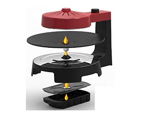 419VmWWZ9vL - WJJJ New BBQ Poke Hot Pot Non-Stick All Powerful Stovetop Grill Maschine Smoke-Free Baking Electric Multifunctional Pan Multi Purpose Pot Korean Style Black Kitchen Pot