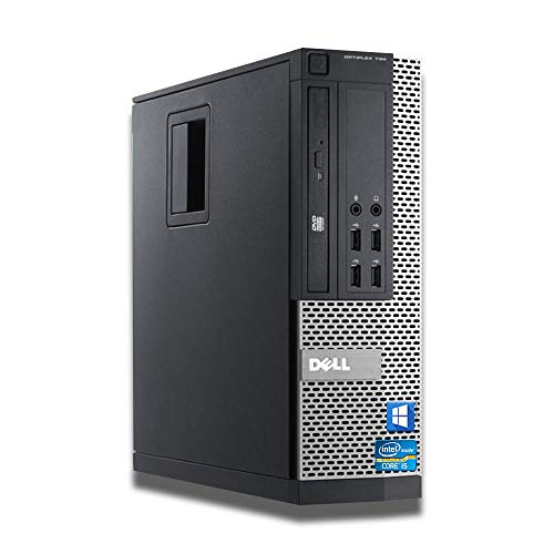 Dell Optiplex Intel I5-2400 Quad Core I5 8 GB di RAM 240 GB Ssd + HDD da 500 GB Wi-Fi Windows 10 PC da scrivania (Ricondizionato)