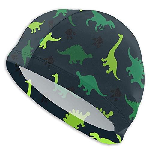 Tcerlcir Gorro Natación Encantador Dinosaurio Gorro de...