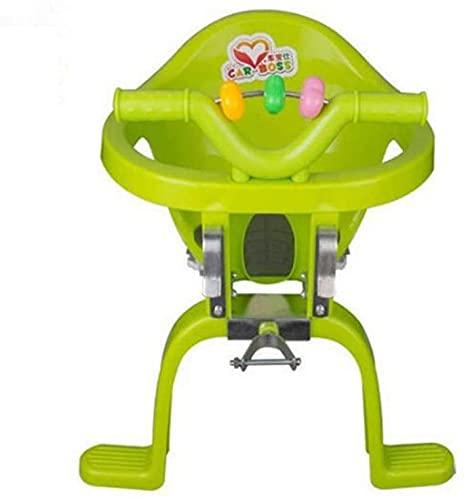 X&Y Bebé Frente Bicicleta Asiento montado niño Asiento Bicicleta plástico Colgando sillas bebés Asiento de Seguridad Seguridad y cómodo
