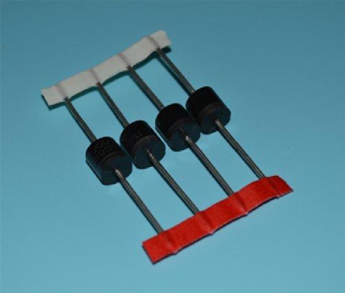 ショットキーバリアダイオード 4本セット 高速スイッチング 15A  熱収縮チューブ付き