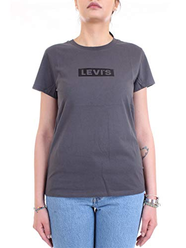 Levi's 17369 0904 T-Shirt/Polo Mujer Gris M