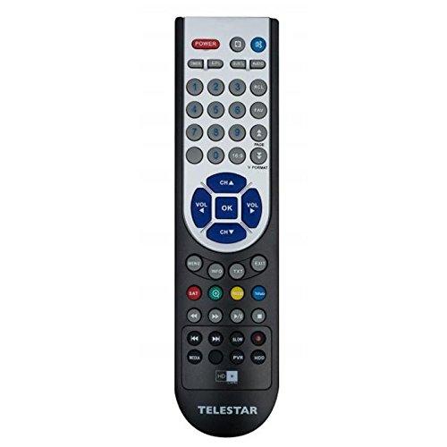 Telestar Fernbedienung für DIGIO 20 HD+, Silber-schwarz