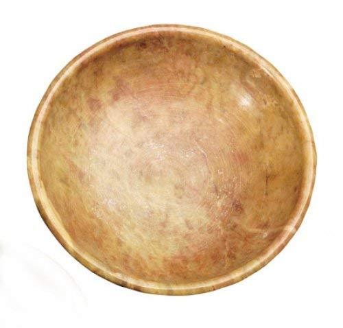 Specksteinschale, 10,5 cm / Räucherstäbchenhalter Räuchergefäß Räucherschale Räucherzubehör für Räucherungen, Räuchermischungen und Räucherstäbchen