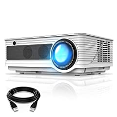 [Enjoy Awesome Visual Experience] VIVIMAGE C580 Movie Outdoor Projector provides awesome visual experience. 1280 X 800 native resolution is suitable for professional use and provides +80% brightness than ordinary projector. Mstar Advanced Color Engin...