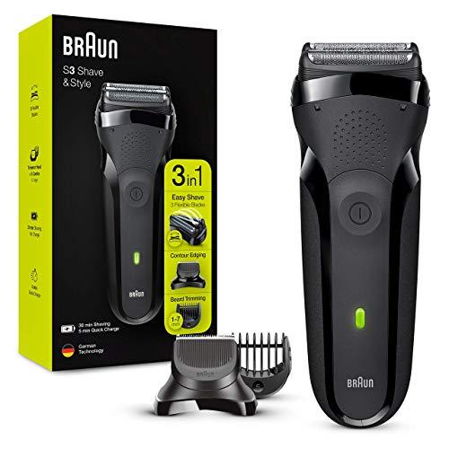 Braun Series3 Shave&Style 300BT Rasoir Électrique Barbe...