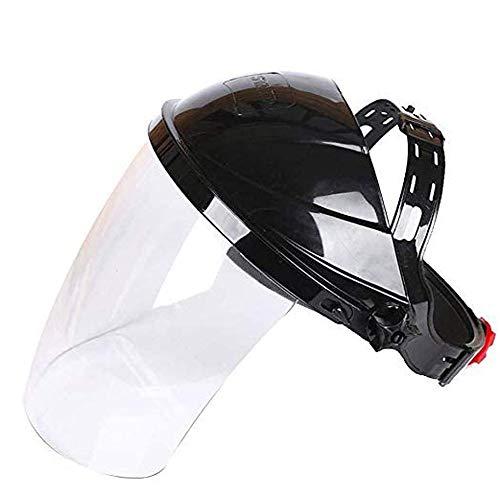 Beschermend viziergezicht, doorzichtig veiligheidsgezichtsscherm Veiligheid Oogbescherming Gezichtsdekking Vizier Transparante gezichtsbescherming voor laboratorium, huishouden, keukengebruik