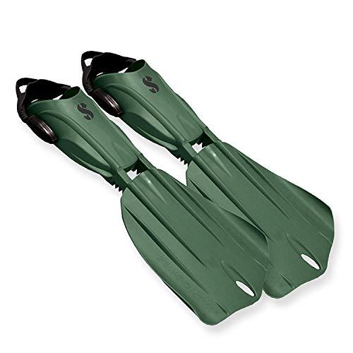 SCUBAPRO Seawing Nova Gorilla - extra harte Geräteflosse, Farbe:grün, Größe:M
