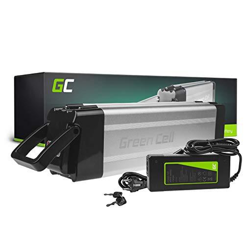 GC® Batteria per Bicicletta Elettrica 48V 14.5Ah E-BIKE Pedelec Silverfish Li-Ion Caricabatterie Micargi Freway MING Fantic