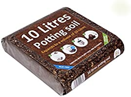 GreenBrokers Organic All Purpose Potting Compost Enriched with Nutrients