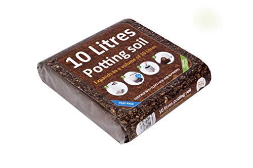 Organic All Purpose Potting Compost Enriched with Nutrients - Expands to 10Ltrs