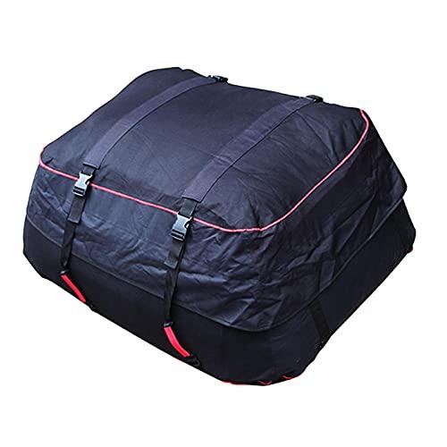 thorityau - Borsa da tetto per auto, da 220 litri, pieghevole, per tettuccio, impermeabile, morbida, adatta per auto, camion o SUV