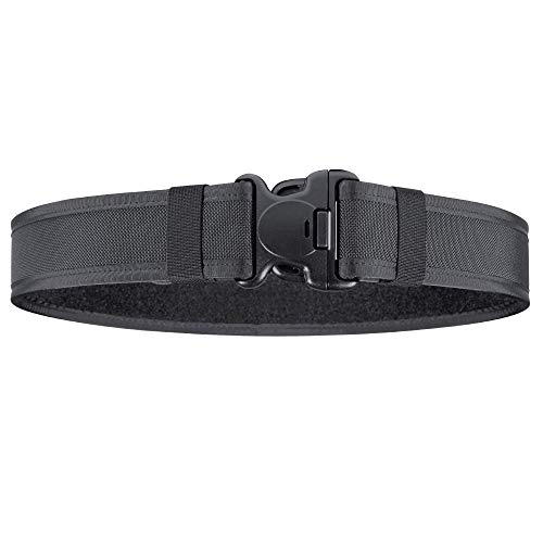 Bianchi Accumold 1016105 7200 Black Nylon Duty Belt (Waist Size Medium 34-40)
