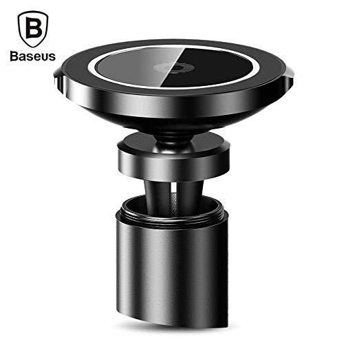 Baseus Universal Car Magnetische mobiele telefoon houder & inductief laadstation Qi Wireless voor iPhone, Samsung, Huawei, HTC, LG etc.