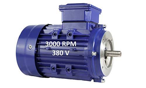 MOTOR ELECTRICO TRIFASICO 1,1KW / 1,5CV 220 / 380V 3000RPM B14 (BRIDA...