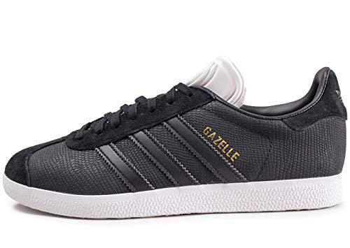 adidas Gazelle W, Scarpe da Fitness Donna, Nero (Negbás/Negbás/Ftwbla 0), 40 2/3 EU