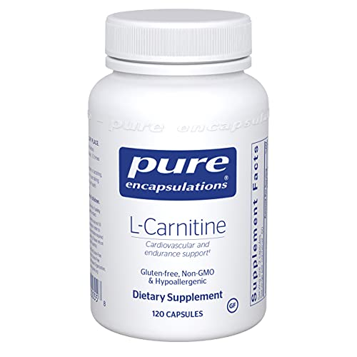 Pure Encapsulations - L-Carnitine - Hypoallergenic Supplement for Cardiovascular and Endurance Support - 120 Capsules
