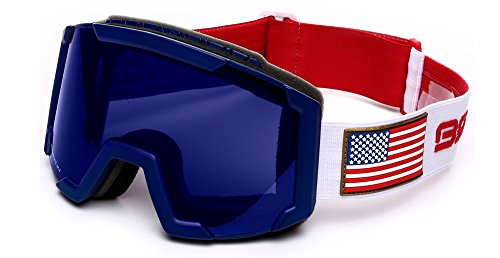 Briko Skibrille Junior Lava USSA Red/Blue/White