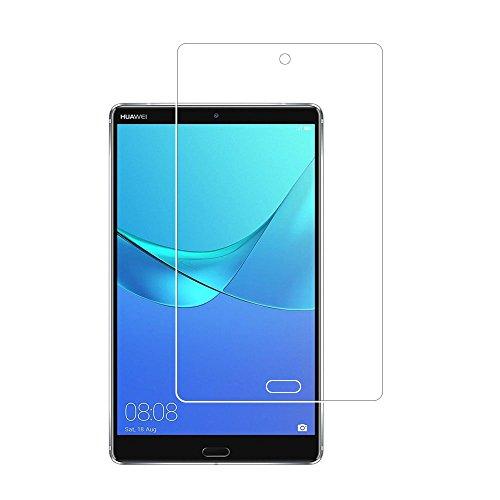 Protector de pantalla para tablet HUAWEI MediaPad M5 8.4″, 0.26mm 9H Protector de pantalla de vidrio templado para HUAWEI MediaPad M5 8.4 con antihuellas dactilares sin burbujas cristal transparente