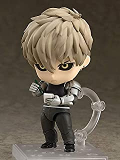 Allegro Huyer New nendoroid #645 one Punch Man genos Super Movable Edition Figure PVC Action Figure Gift Model Toys 10cm (Without Box)