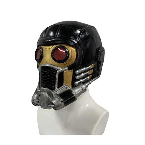 Halloween Starlord Masken Superheld Latexmaske Voll Head Helm Film Cosplay Kostüm Accessoires Für Herren Bekleidung Kostüm Props,Star Lord