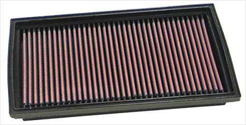 K&N 33-2166 Filtre à Air du Moteur: Haute Performance, Premium, Lavable, Filtre de Remplacement, Plus de Pouvoir, 1996-2002 (9-3 Series, 9-3, 900)